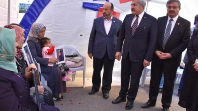 TBMM İnsan Hakları İnceleme Komisyonundan Diyarbakır annelerine destek