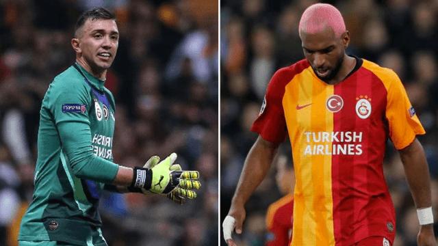 Galatasaray'da Muslera ve Babel'den haber var