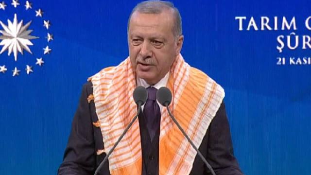 Erdoğan: Tarımsal hasılada dünyada yedinci, Avrupa'da ise birinci sıradayız