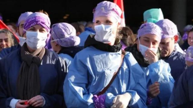 Hollanda'da sağlık çalışanları grevde