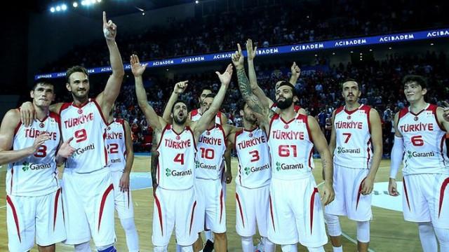 A Milli Basketbol takımımızın rakipleri belli oldu