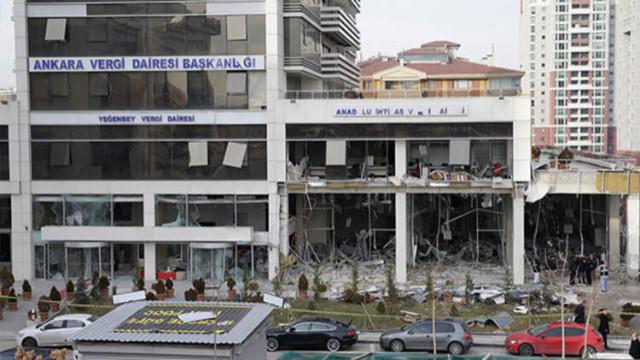 Ankara Vergi Dairesini bombalamışlardı