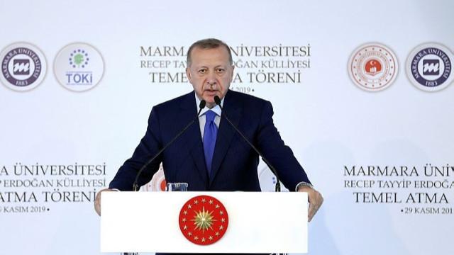 """Erdoğan'dan Macron'a tepki """"Sen önce git kendi beyin ölümünü kontrol ettir"""""""
