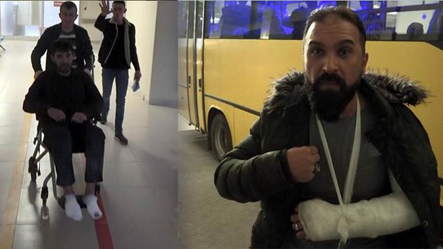 Kaçak göçmen Yusufi: 5 Yunan polisi beni 2 saat dövüp, kolumu kırdı