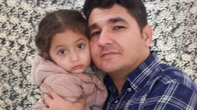 Baba ile 4 yaşındaki kızına alçak saldırı