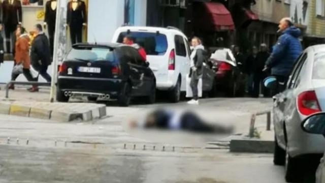 İstanbul'da cadde ortasında cinayet!