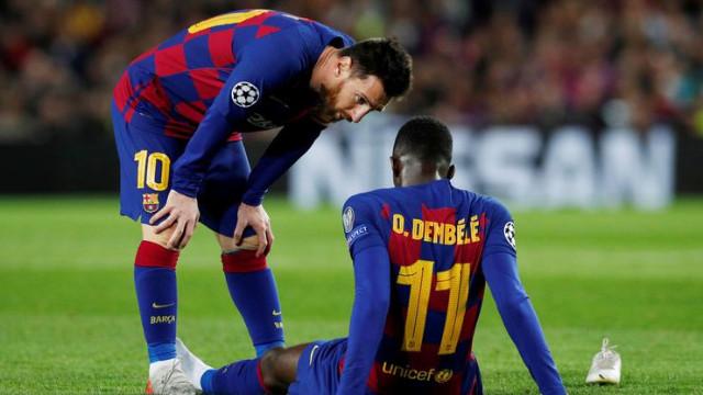 Barcelona'da Ousmane Dembele şoku