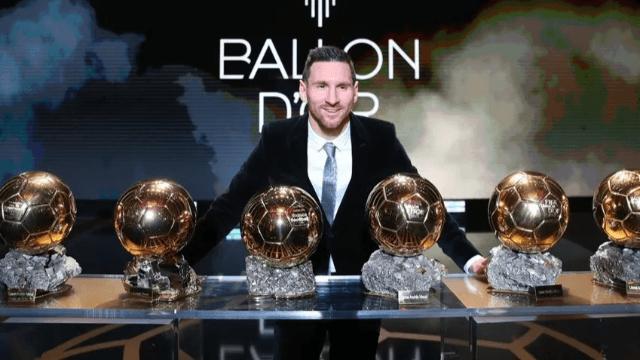 Altın Top ödülü 6. kez Messi'nin