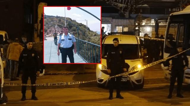 Polis memuru kendi silahıyla vuruldu