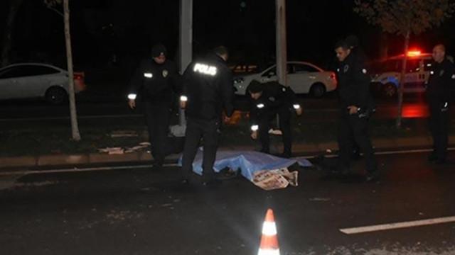 Feci kaza: Metrelerce sürüklendi