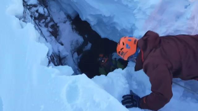 Kayıp dağcılar didik didik aranıyor