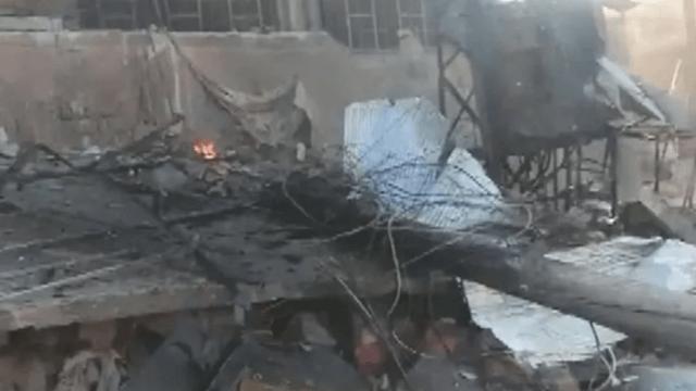 Rejim güçleri İdlib'i bombaladı!