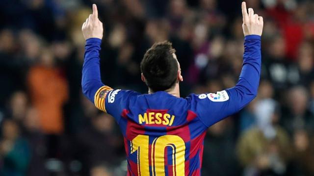Messi'den La Liga rekoru