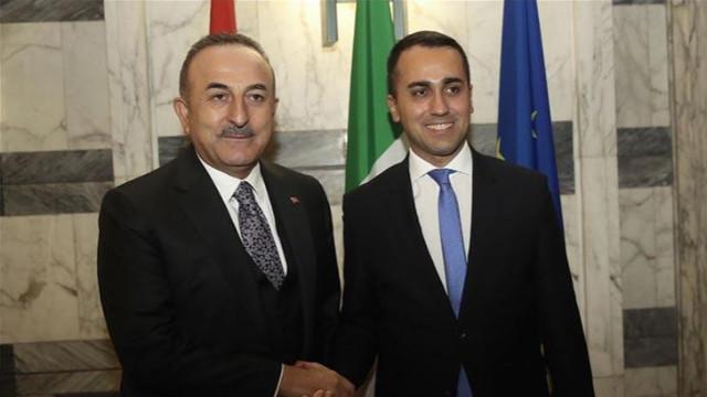 Çavuşoğlu, İtalyan mevkidaşıyla görüştü