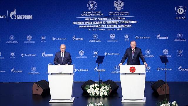 Cumhurbaşkanı Erdoğan: Tarihi nitelikte bir proje