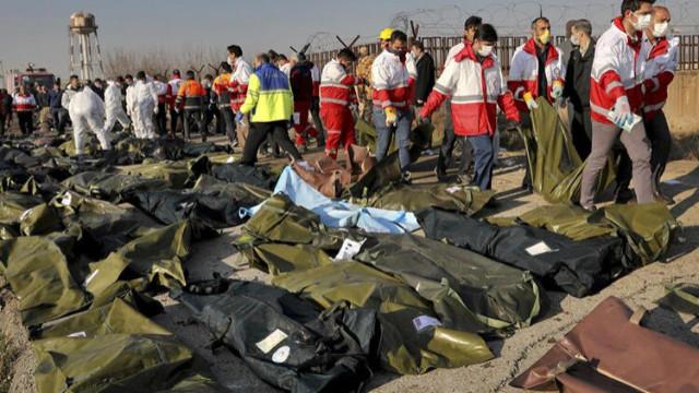 İran'da düşen uçakla ilgili Ukrayna'dan açıklama
