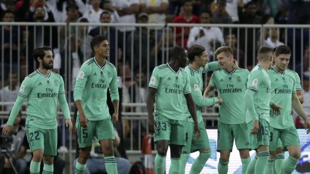 İlk finalist Real Madrid