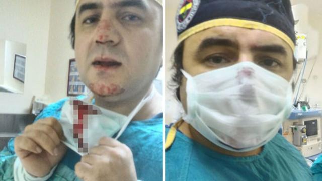 Darbedilen doktor, saldırganın eşine doğum yaptırdı
