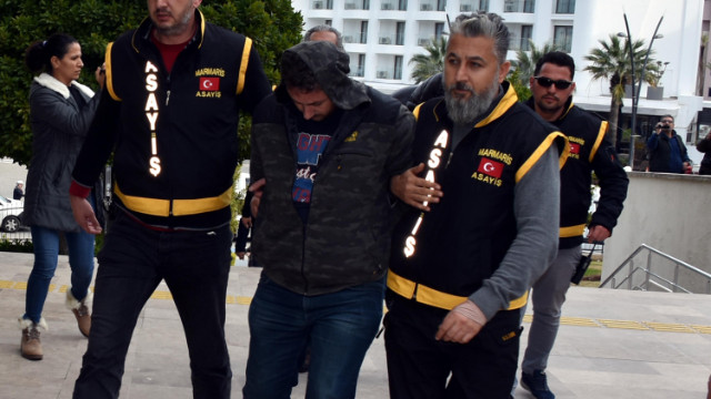 Marmaris'te seyir tepesindeki cinayete 1 tutuklama