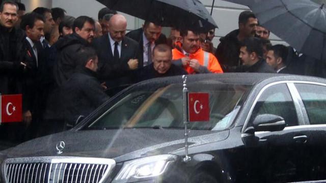 Cumhurbaşkanı Erdoğan Galataport Projesi'ni gezdi