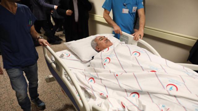 AK Parti'li İbrahim Aydın ve eşi kaza geçirdi