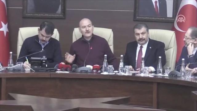Bakan Soylu: Toplam 45 vatandaşımızı sağ olarak çıkardık