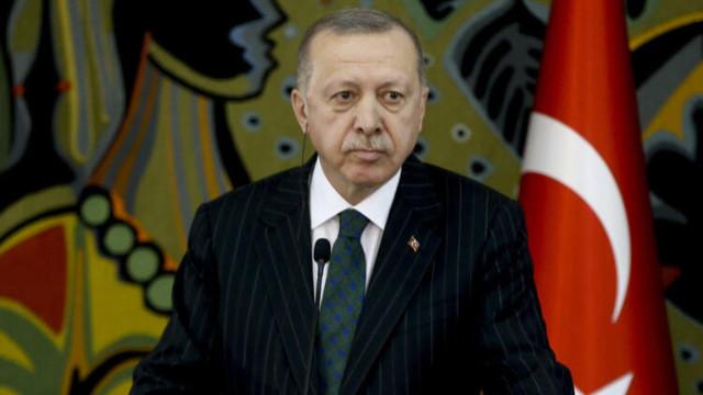 Erdoğan: Uluslararası camiada resmi kimliği ve kişiliği yok