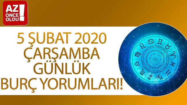 5 Şubat 2020 Çarşamba günlük burç yorumları!
