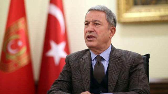 Bakan Akar duyurdu! 76 rejim askeri öldürüldü