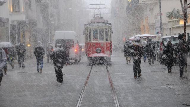 İstanbul bembeyaz olacak