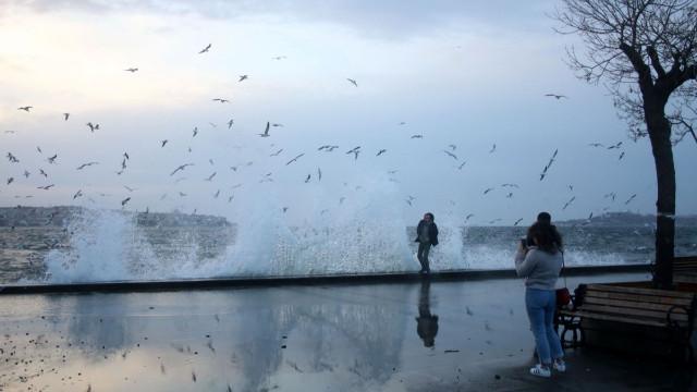 İstanbul'da yarın kuvvetli lodos