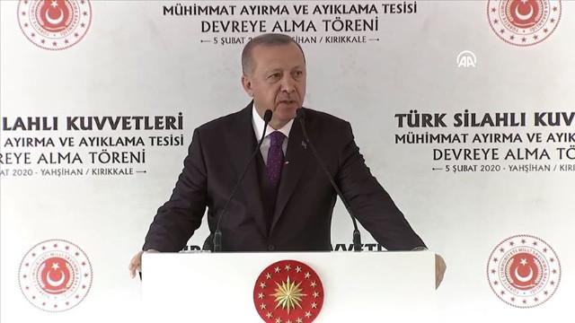 Erdoğan: Savunma sanayinde yerlilik ve millilik oranı yüzde 70'lere çıktı