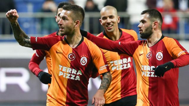 Galatasaray dolu dizgin