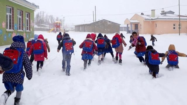 Van'da okullar yarın da tatil