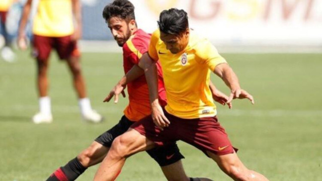 Galatasaray'da Falcao'dan güzel haber