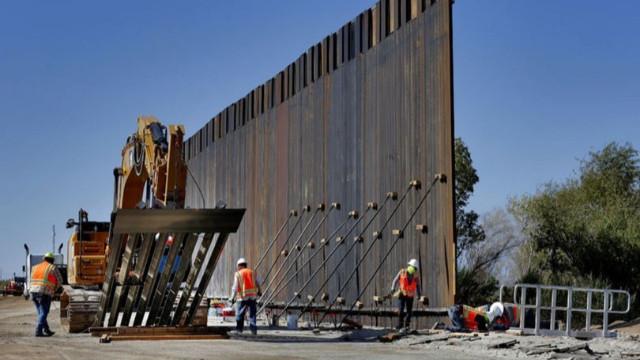 Pentagon'dan 'duvar' için 3,8 milyar dolar fon!