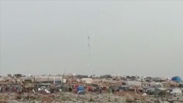 Esed rejimine ait helikopter düşürüldü