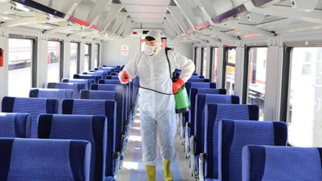 Tren seferlerine koronavirüs engeli