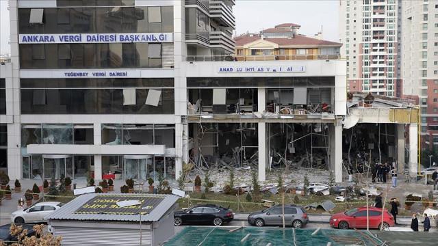 Çankaya'daki vergi dairesine saldırıda karar