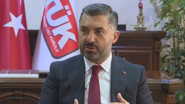 RTÜK Başkanı Şahin: Uyarıları bazı yayıncılarımız dikkate almadı