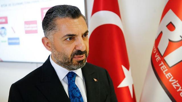 RTÜK Başkanı Şahin'den Saymaz'a yanıt