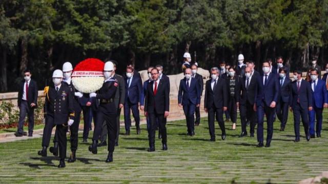 19Mayıs'ın 101. yıl dönümü! İlk tören Anıtkabir'de