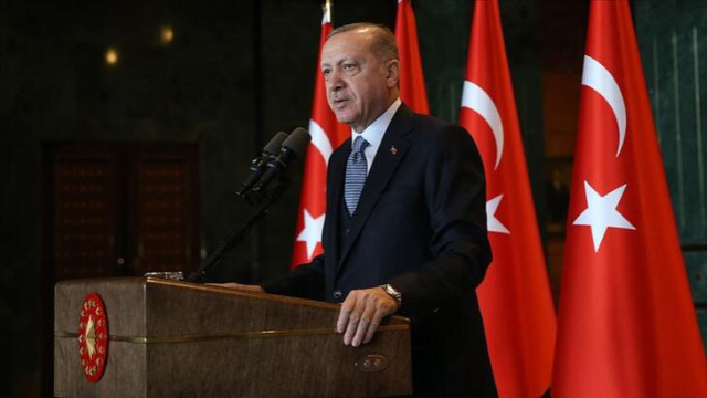 Erdoğan: Kendi halkına silah çekenlere en güzel cevap bu eserdir