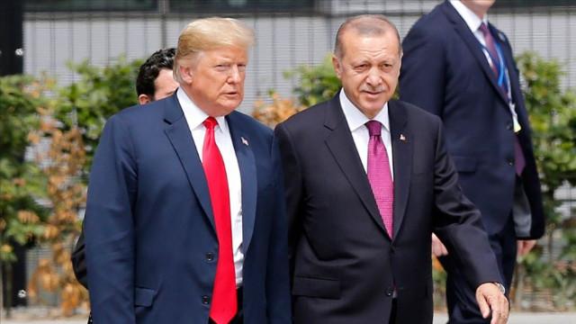 Erdoğan, Trump ile görüştü! İkili meseleler görüşüldü