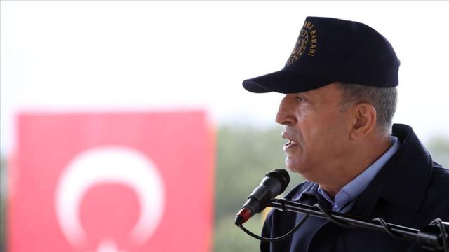 Bakan Akar duyurdu: 1458 terörist öldürüldü