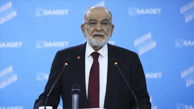"""Saadet Partisi Lideri Karamollaoğlu'ndan """"Soylu"""" çıkışı: İstifa etmeli"""