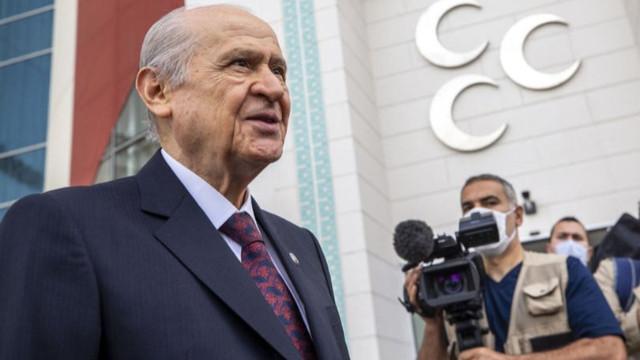 Bahçeli'den terörle mücadele desteği: Haftanin'e Türk kahramanlığının mührü vurulmuştur