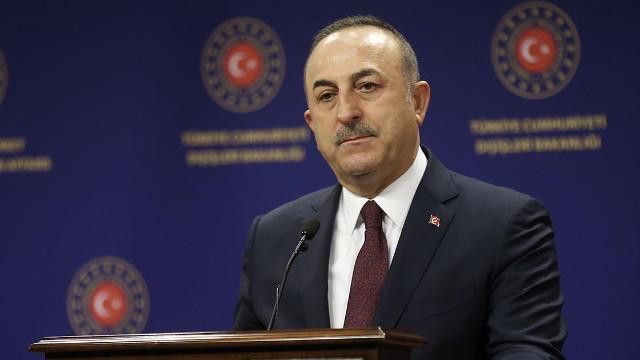 Dışişleri Bakanı Çavuşoğlu: Tehlikeli oyunu haddini aşarak oynayan Macron'dur