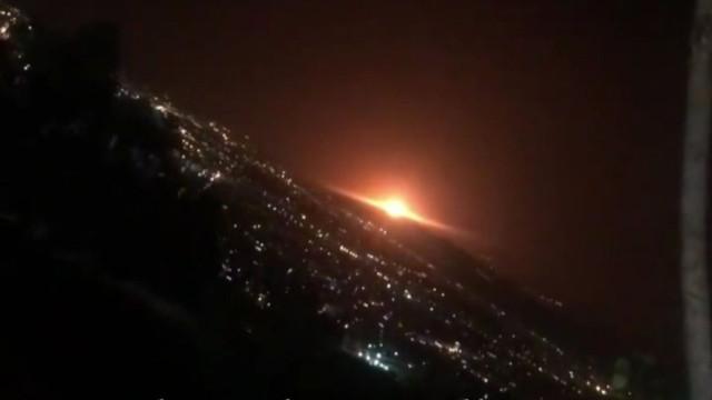 Tahran'ın doğusunda patlama!