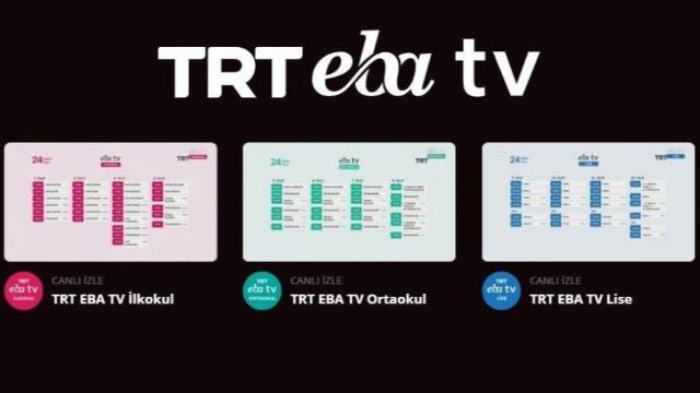 EBA TV kanallarında 'yeni nesil öğrenme' başlıyor